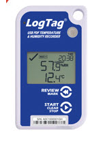LogTag UHADO-16 Temperature & Humidity data loggers
